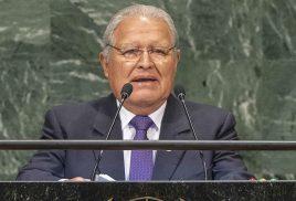 El Salvador's president urges U.N. support for proposed decade of ecosystem restoration