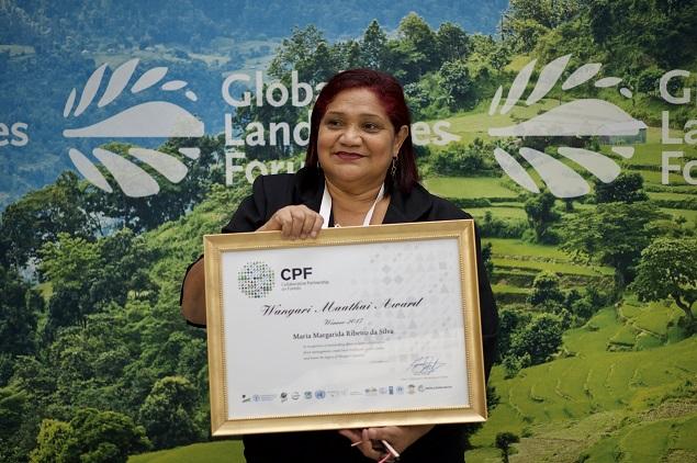 Líder de reserva extrativista no PA recebe prêmio ambiental internacional